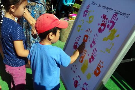 В Красногвардейском районе малыши учились правилам поведения в лесу