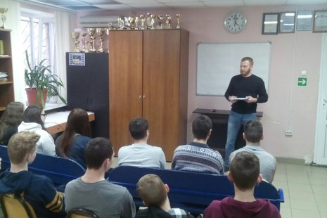 Для подростков Красногвардейского района прошла добровольческая акция «Наркотик нам не друг!»