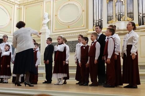 «Петербургские звездочки» из Красногвардейского района спели в Мраморном дворце